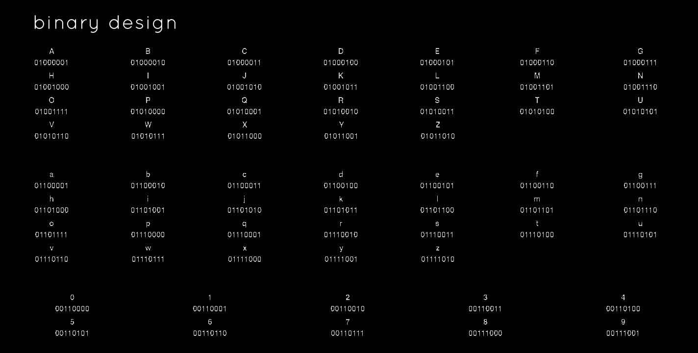 binarydesign
